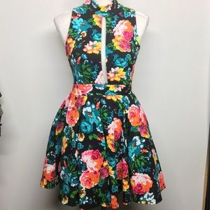 Auditions Floral Dress